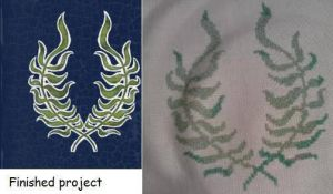 Cousland Crest Stitch by darktenshi17