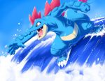 original SUrf on Feraligatr by Ninja-Jamal