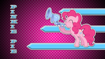 Pinkie pie crystal flugelhorn wallpaper by rhubarb-leaf