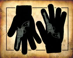 Six Shooter Gloves by scumbugg