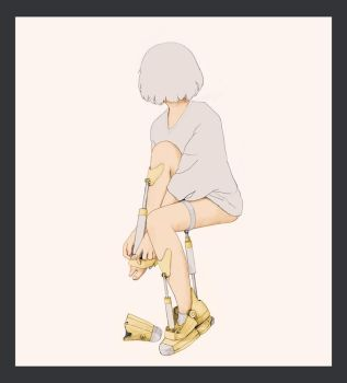 Yellow Boots 2 by xearslll