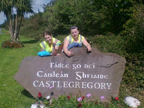 me and Eva in Kerry during the Summer of 2012 by RoseF1