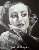 Joan Crawford by Drawing-Dude-Dave