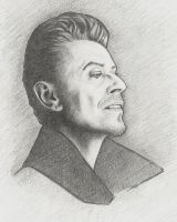David Bowie by DostoevskysMouse