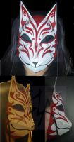 Lady of Inari Mask by ShinLadyAnarki