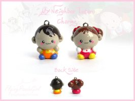 My Neighbor Totoro Charms by FlyingPandaGirl