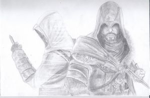 Assassin Creed Revelation-Ezio by NeckCrowManSir