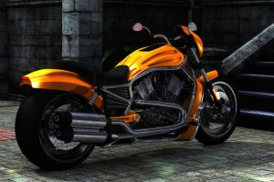 My first Bike 03 by RissingFlower