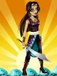 Shahra, Daughter of Sinbad EAH Design Gift by Jade-the-Tiger