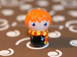 Chibi Ron Weasley Clay Charm by KBelleC