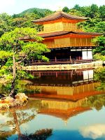 Kinkakuji (The Golden Temple) by Lunell