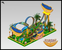 Boomerang. 3D. by MarcMons007