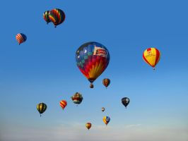 Balloon Festival 13 by Dracoart-Stock