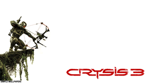 Crysis 3 Wallpaper W/ Large Logo by SimpleWallpapers