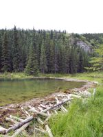 Horseshoe Lake 2 by prints-of-stock