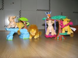 TLK collection: Hasbro Plush Playsets by kary218