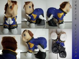 My little Pony Custom Treize by BerryMouse