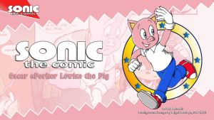 Sonic the Comic : Porker Lewis by adamis