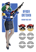 Fakemon: Police Officer Gretchen by MTC-Studio