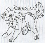 Rammstein Pup by Canisography
