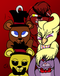The Fazbear Crew by DADERPSTER