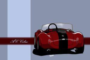 AC Cobra Toon - Black Stripe by Knowleso