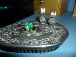 Mini Lamps and Perfume Bottles by kayanah