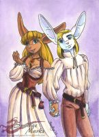 Ebin and May Digital Cover 01 by SmudgeDragon