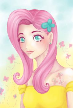 Fluttershy by Tomelie