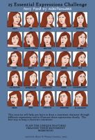 25 Essential Expressions Challenge: Amy Pond by eclecticmuse