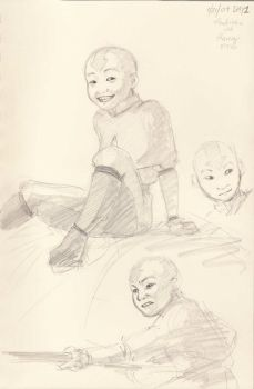 Realistic Aang? by Shinzo-X