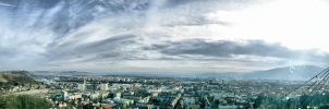 Above Maribor by ketic