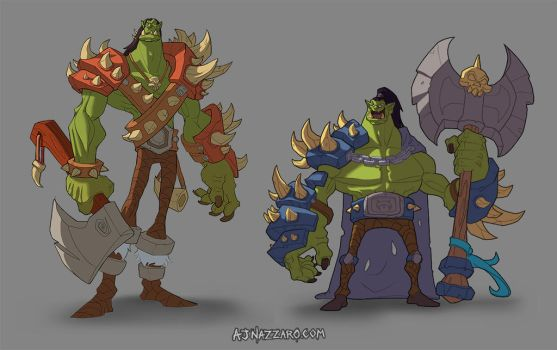 Adventure Orcs by AJNazzaro
