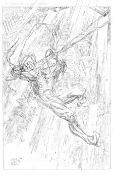 Spider-man  Pencils by ZUCCO-ART