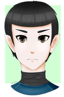 .:Spock:. by gayliens-from-space