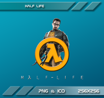 Half life Dock Icon by Dohc-WP