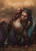 Ogre King by Gimaldinov