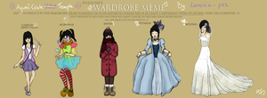 Wardrobe Meme by Lauricia-pics