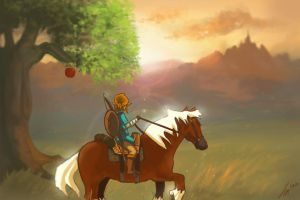 The Legend of Zelda - Breath of the Wild by Filesia