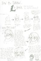 L's Hair: How to Draw by captain-farand