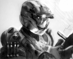 Halo: Shooter. Fighter. Dreamer. by SaffuranLoL