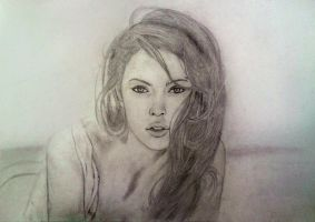 Meganfox . Beach by LelouchArt