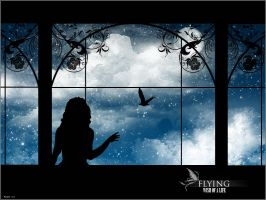 Fliyng, wish of a life by SugarFeathers