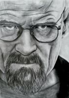 Walter White - Breaking Bad drawing by OnceUponATime221B