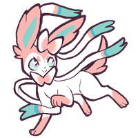 sylveon by koishij