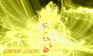 Super Sonic Background by MP-SONIC