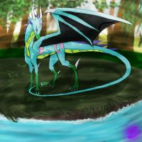 AT: Draco - Sun beats - by Shadow-Crystol