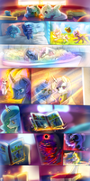 MLP : Adventures of the royal sisters by AquaGalaxy