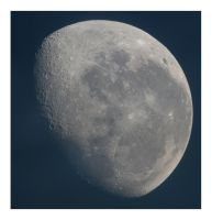 The Moon 13-06-2009 by Chrissyo