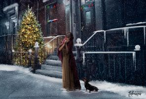 Christmas alone by Adriana-Madrid